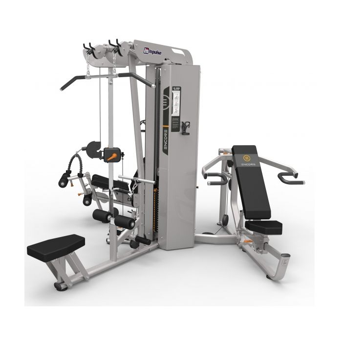 impulse fitness encore es3000 commercial 3 stack multi gym es 3000 - Máy tập đa năng 3 khối Impulse  ES3000