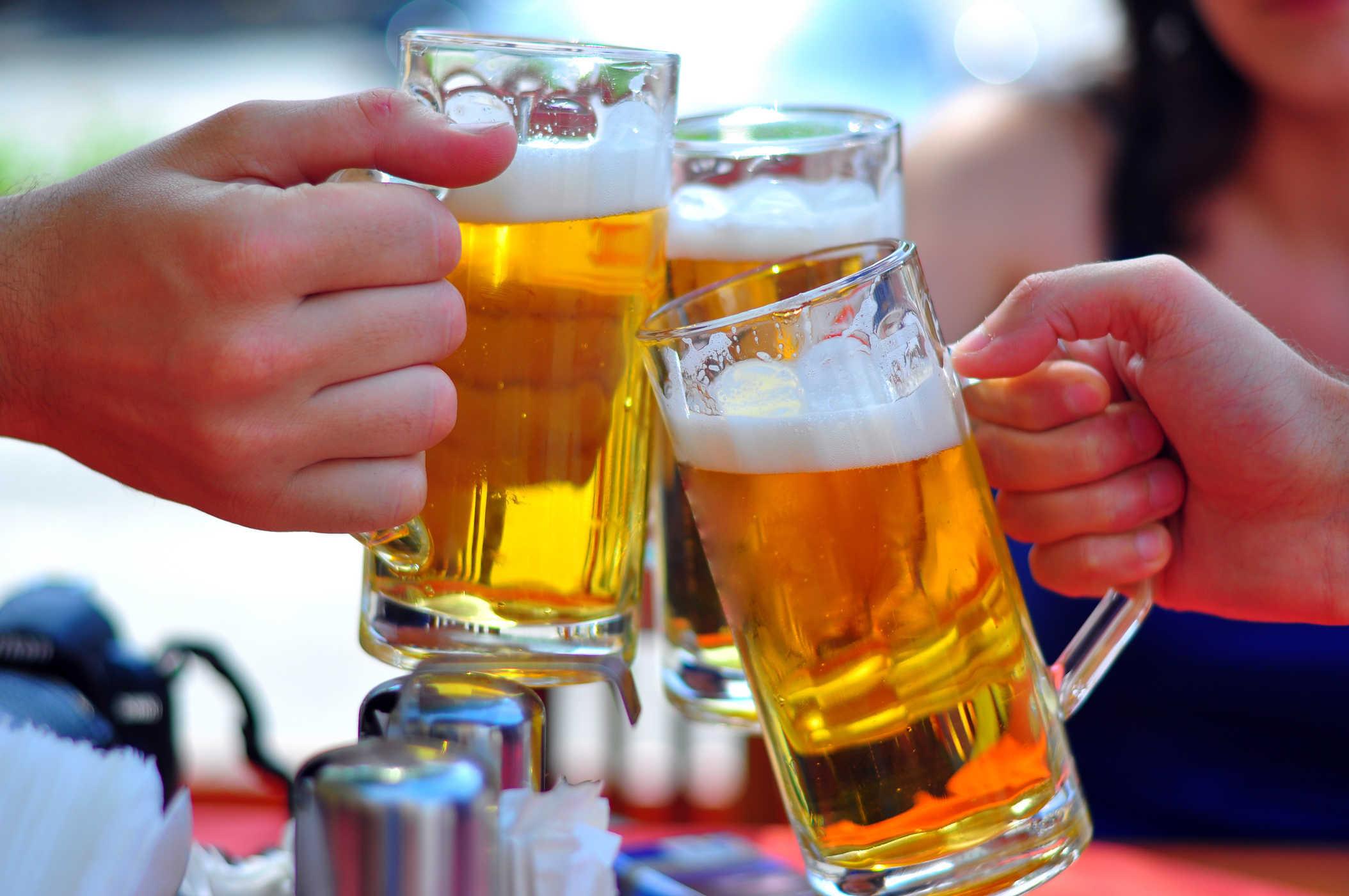 bia ruou - tác hại của rượu bia đối với thể hình